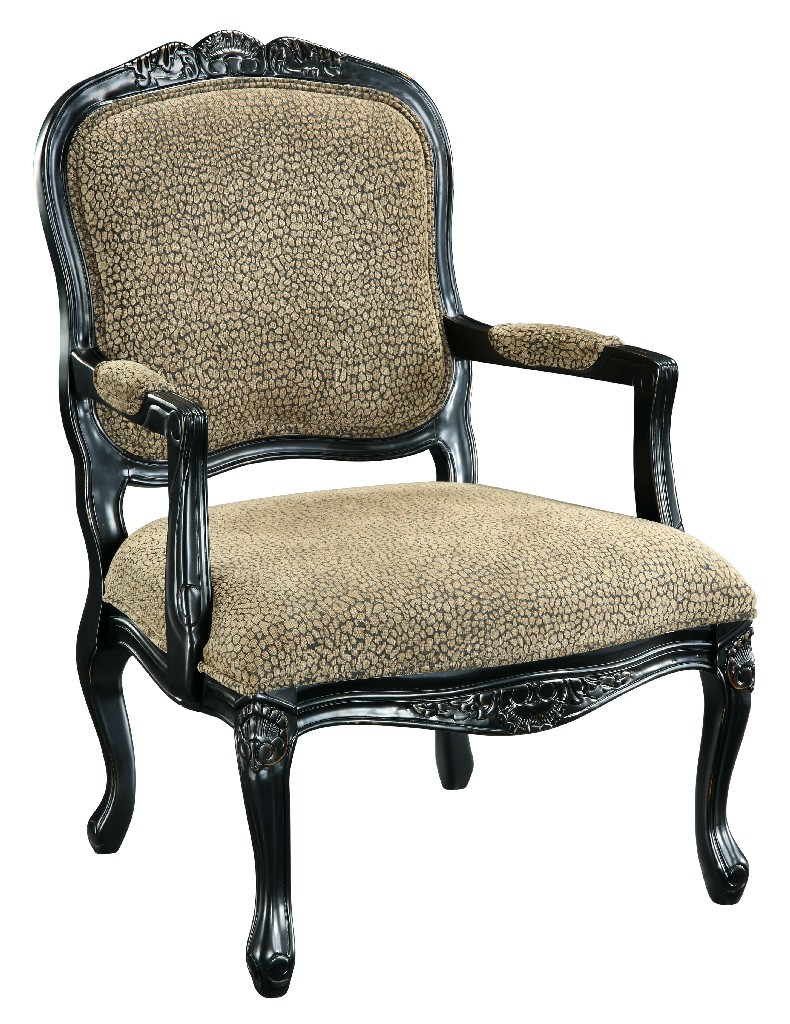 Accent Chair in Animal Print Chair - Coast to Coast 32049