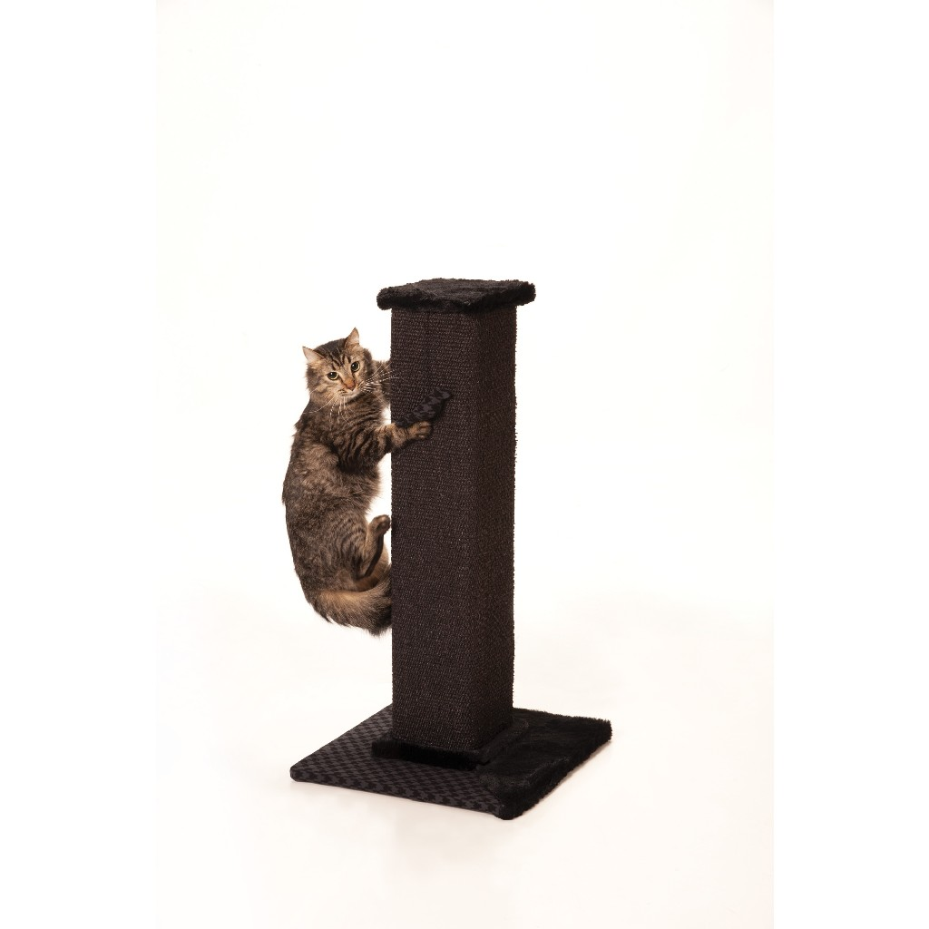 "Max & Marlow 32"" Scratching Post - Grey Sisal (Tall) - 32433301"