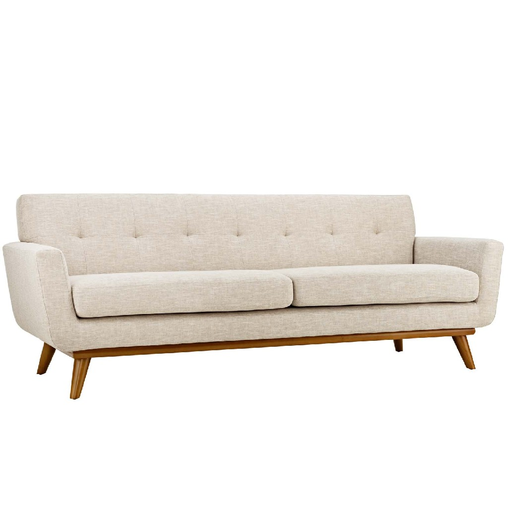 East End Upholstered Fabric Sofa Bei