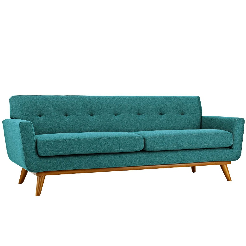 East End Upholstered Fabric Sofa Tea