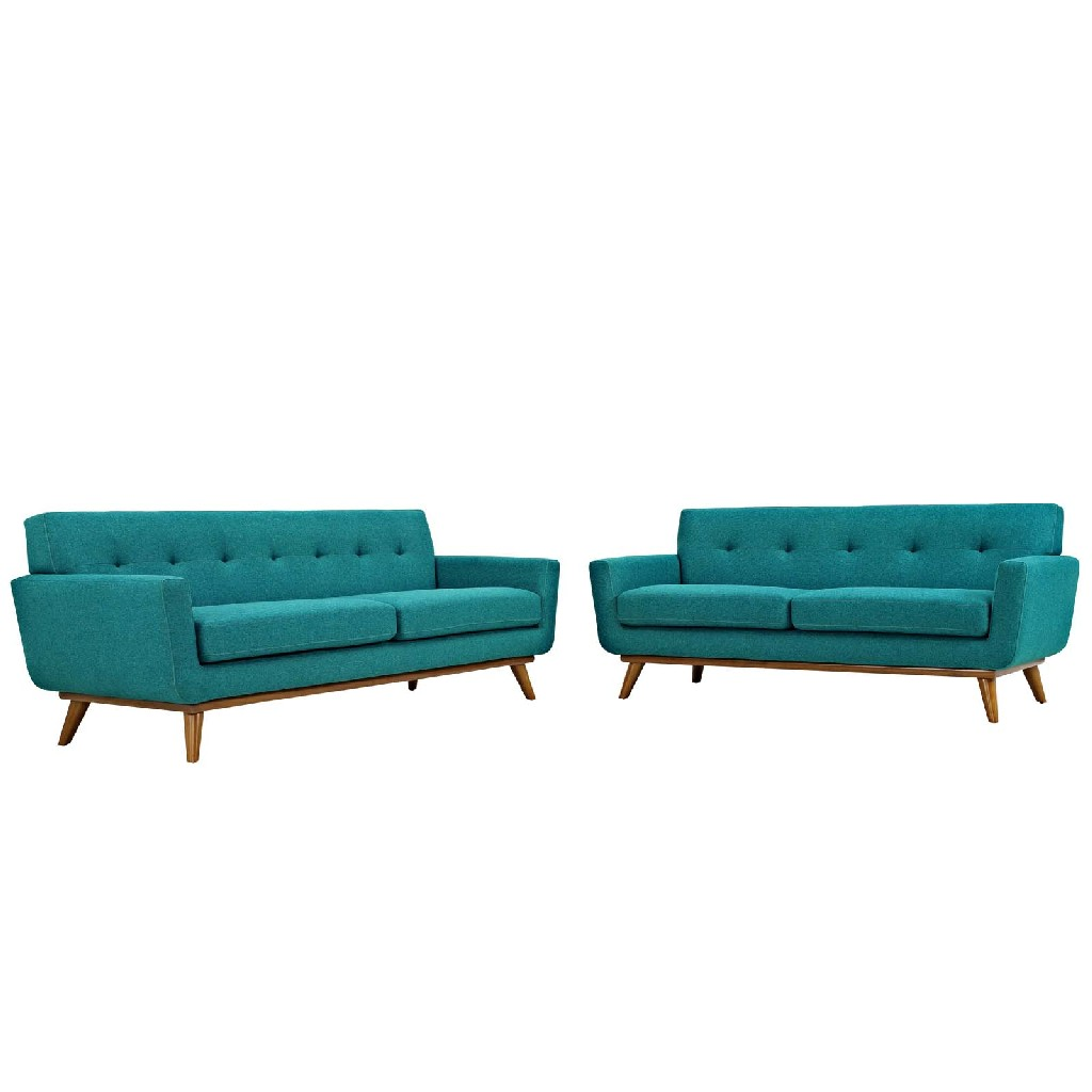 East End Loveseat Sofa Tea