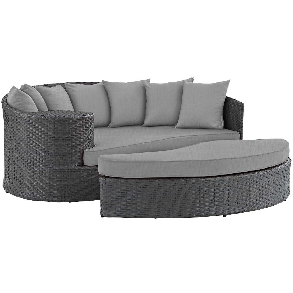East End Imports Outdoor Patio Sunbrella Daybed Chc