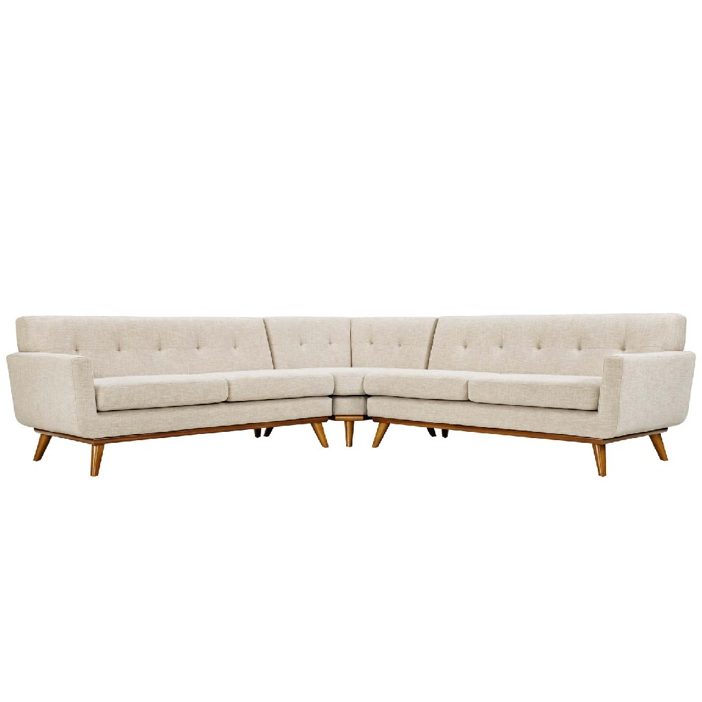 East End Shaped Sectional Sofa Bei Set