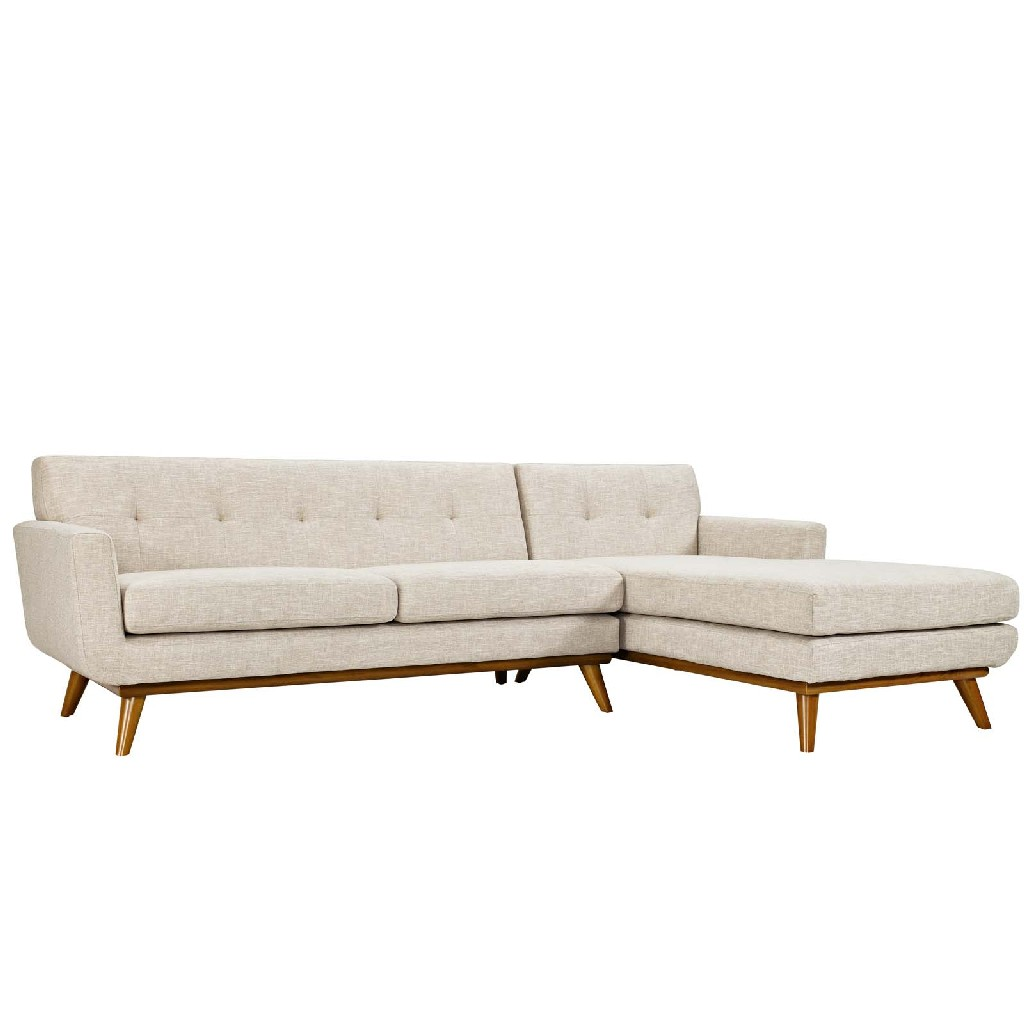 East End Right Facing Sectional Sofa Bei Set
