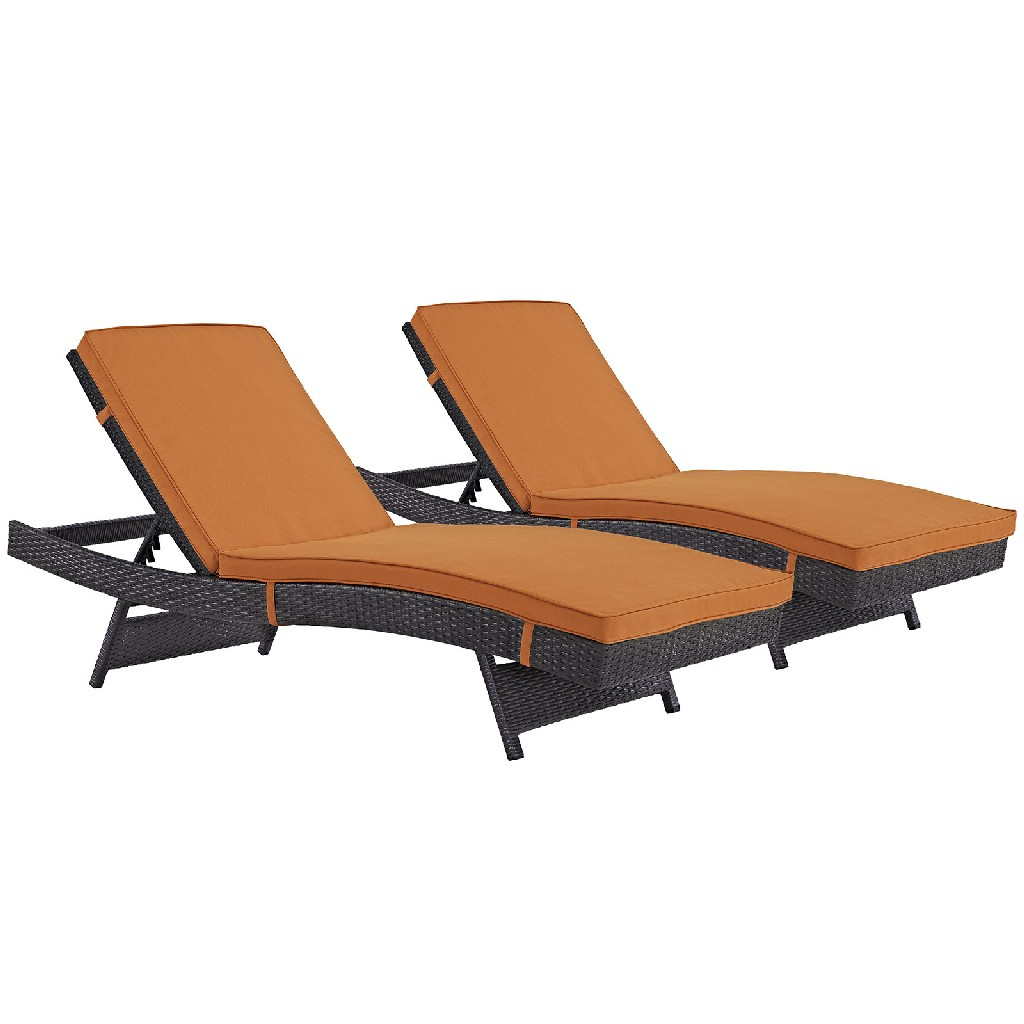 East End Imports Chaise Patio Set
