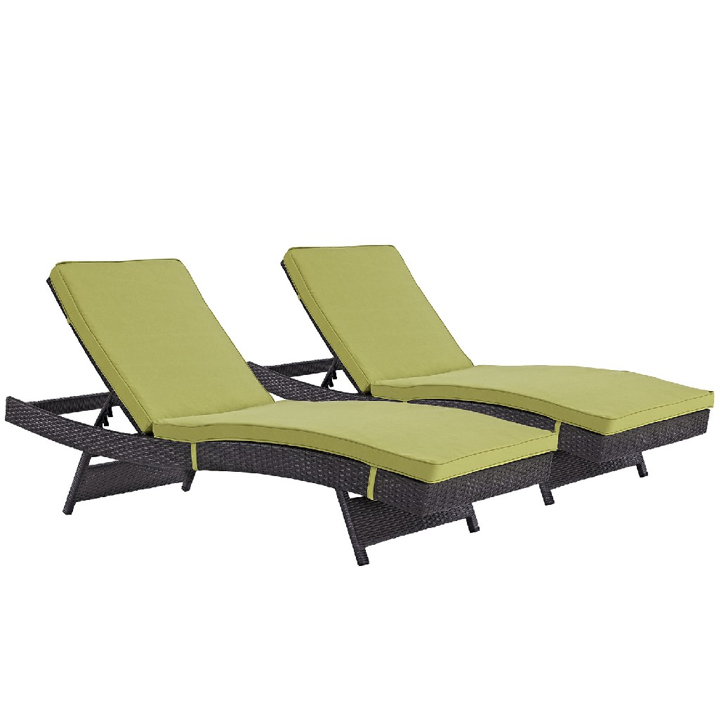East End Chaise Outdoor Patio Exp Per Set