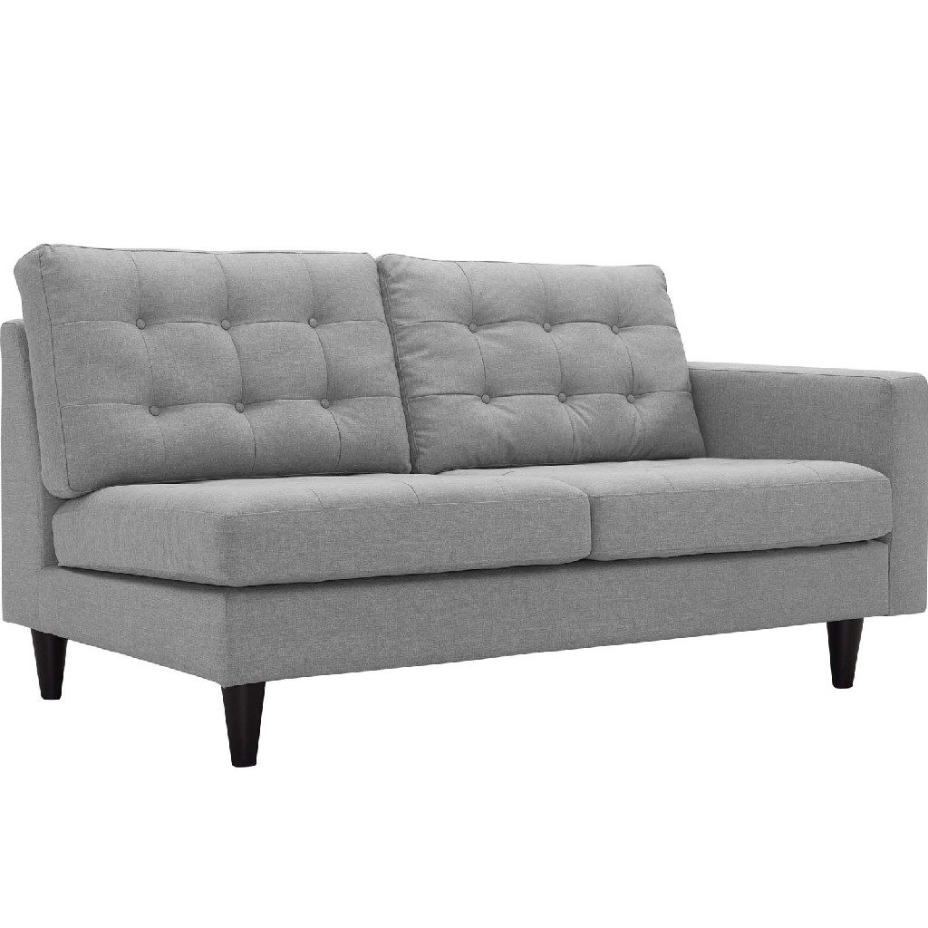 East End Right Facing Upholstered Fabric Loveseat Lgr