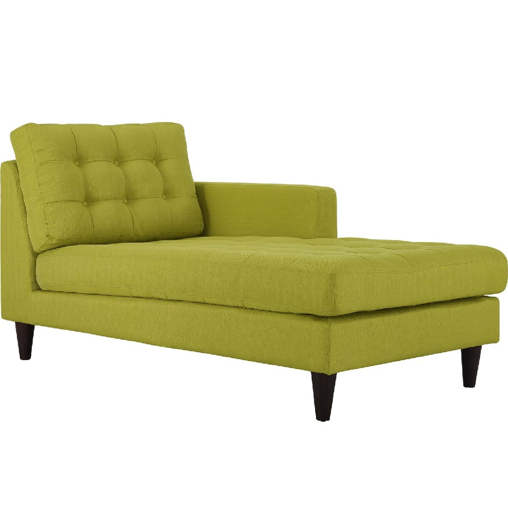 East End Right Arm Upholstered Fabric Chaise Whe