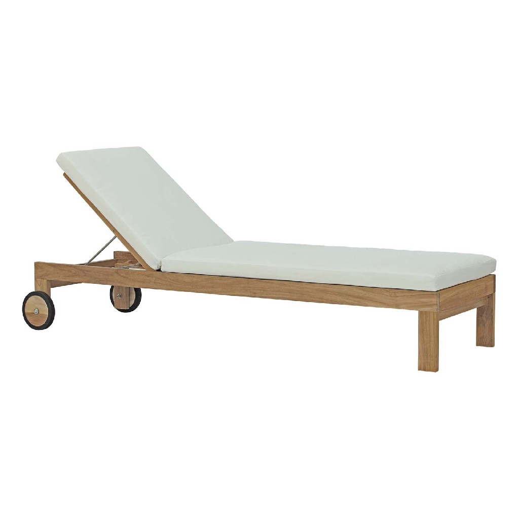 East End Imports Patio Teak Chaise