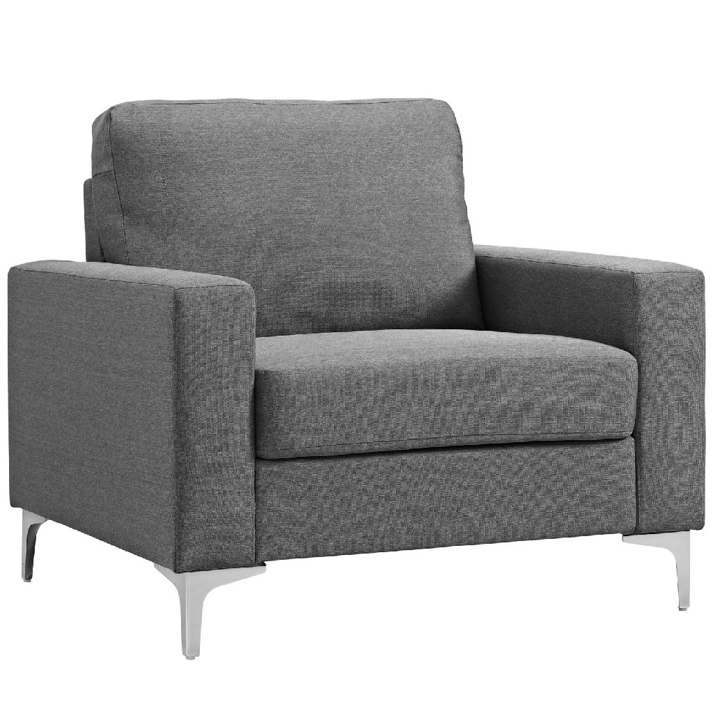 Allure Upholstered Armchair EEI-2776-GRY