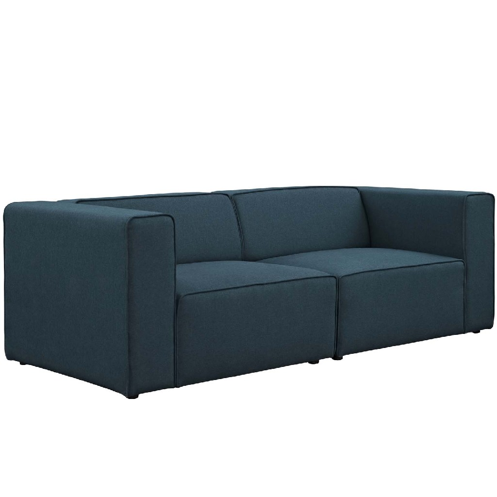 East End Imports Upholstered Sectional Sofa Set