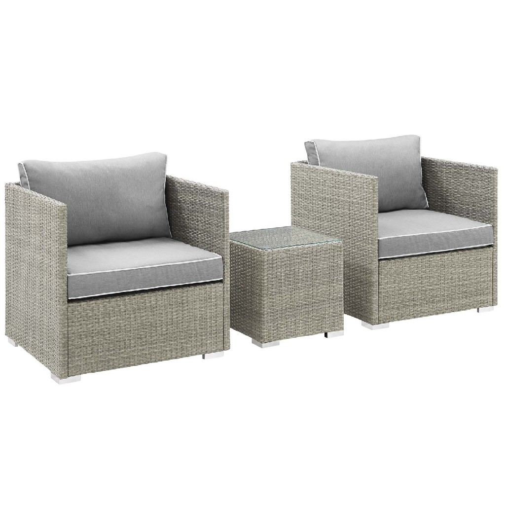 East End Imports Patio Sectional Set Set