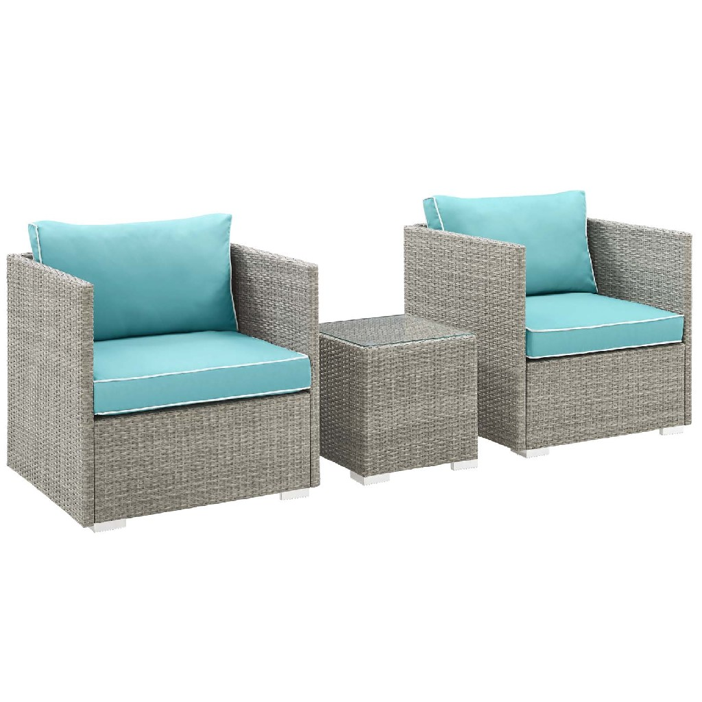 East End Imports Outdoor Patio Sectional Set Trq Set