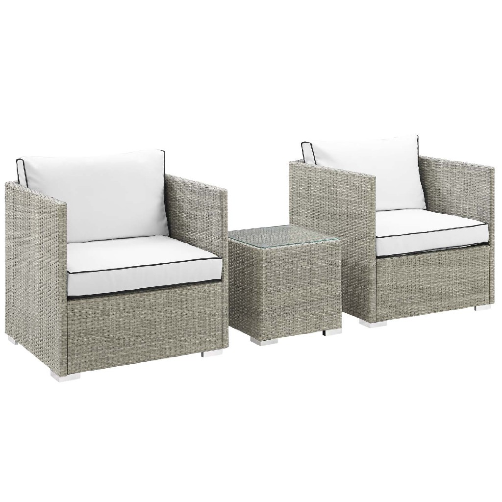 East End Imports Outdoor Patio Sectional Set Set