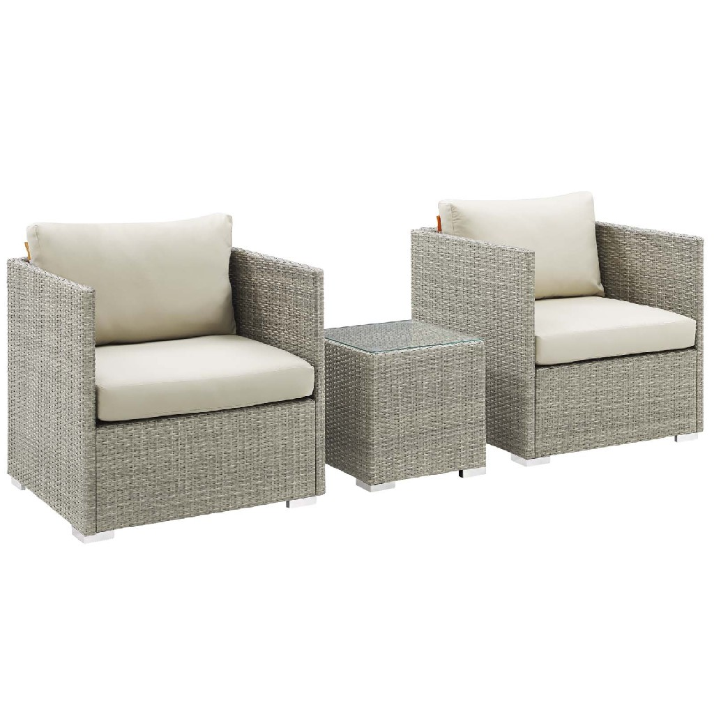 East End Imports Outdoor Patio Sunbrella Sectional Set Set