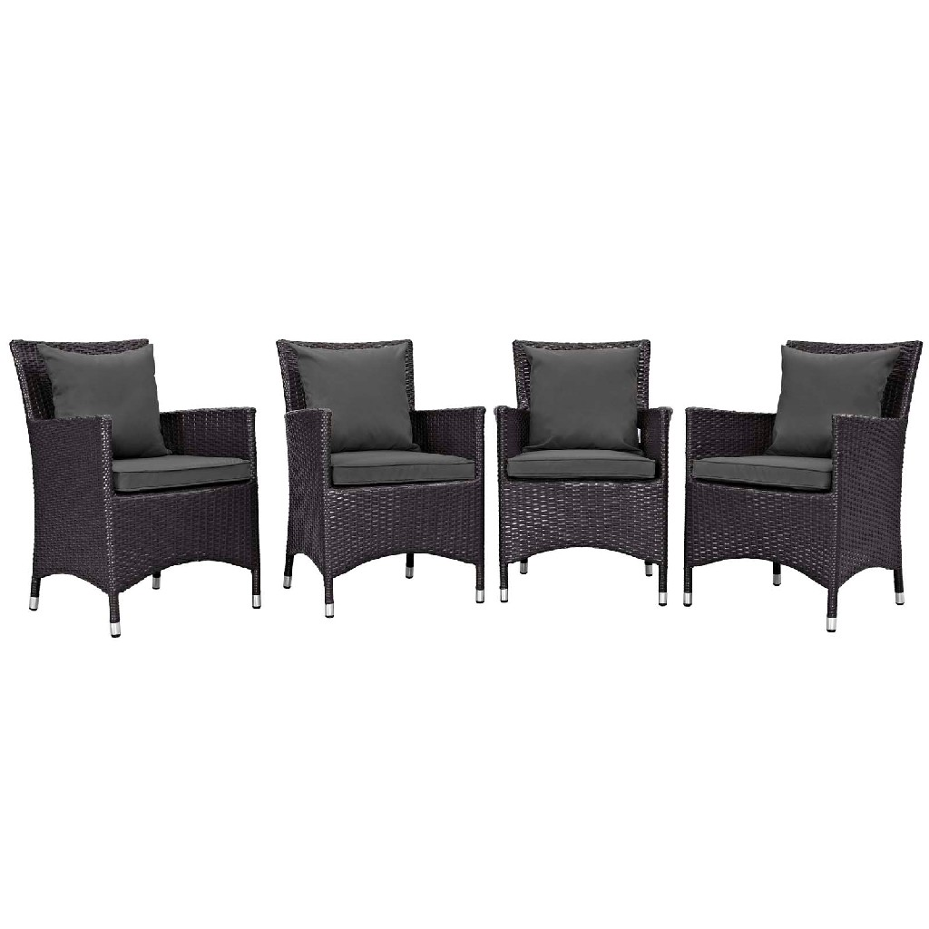 Patio Dining Set Charcoal