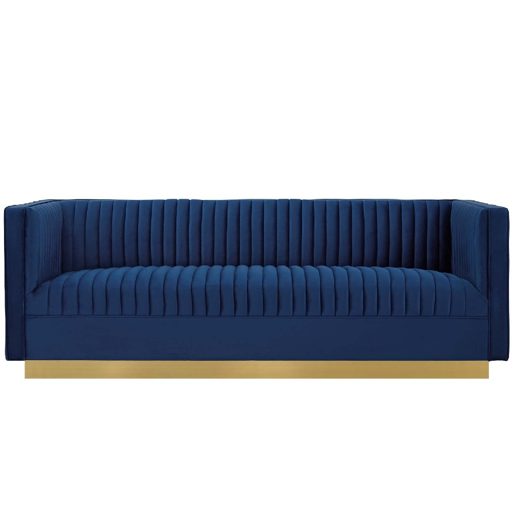 East End Imports Vertical Tufted Sofa