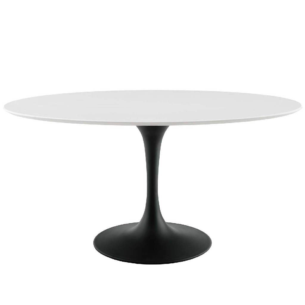 East End Imports Furniture Dining Table Oval Wood Top Photo