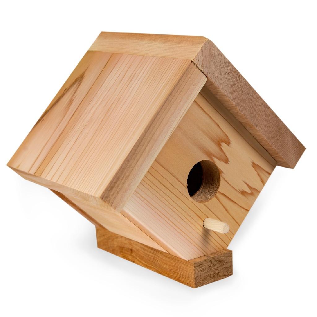 Traditional Cedar Birdhouse - All Things Cedar BH05