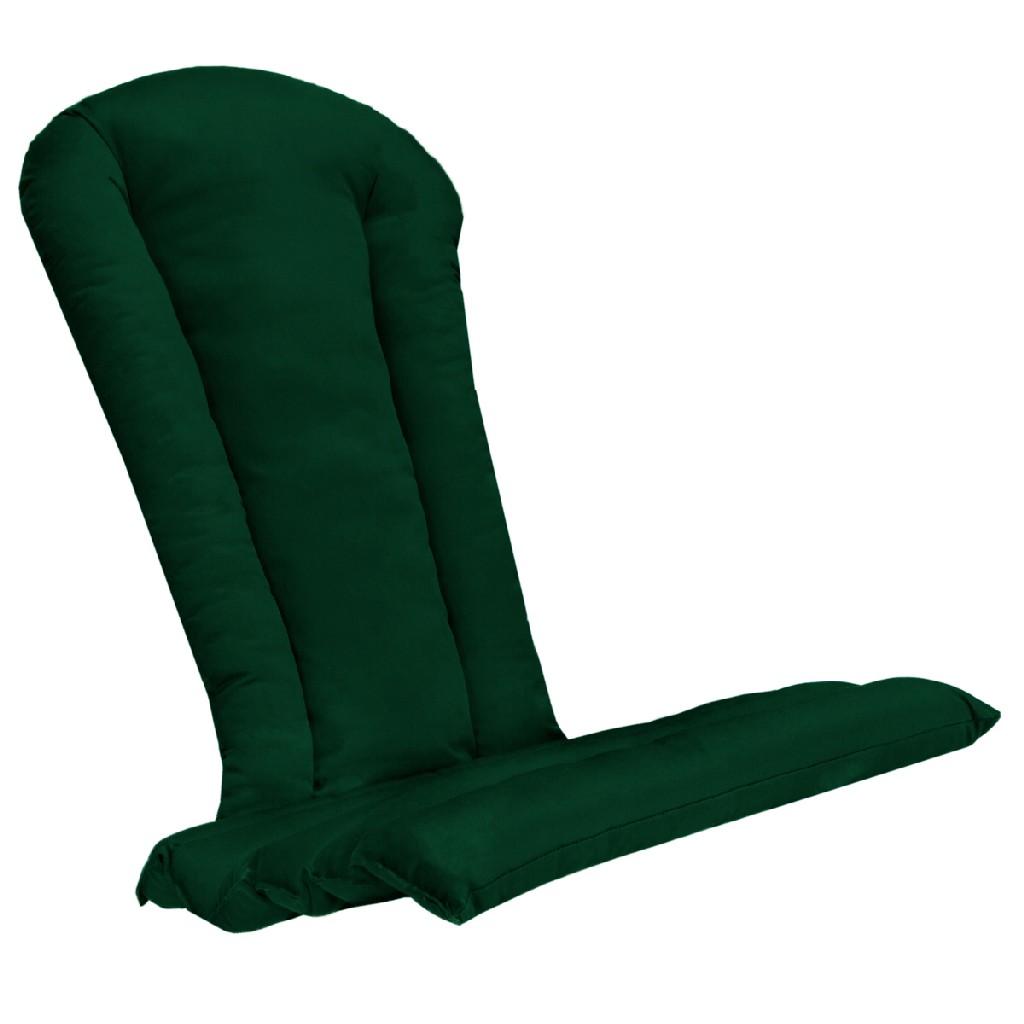 Green Adirondack Chair Cushion - All Things Cedar CC21-G