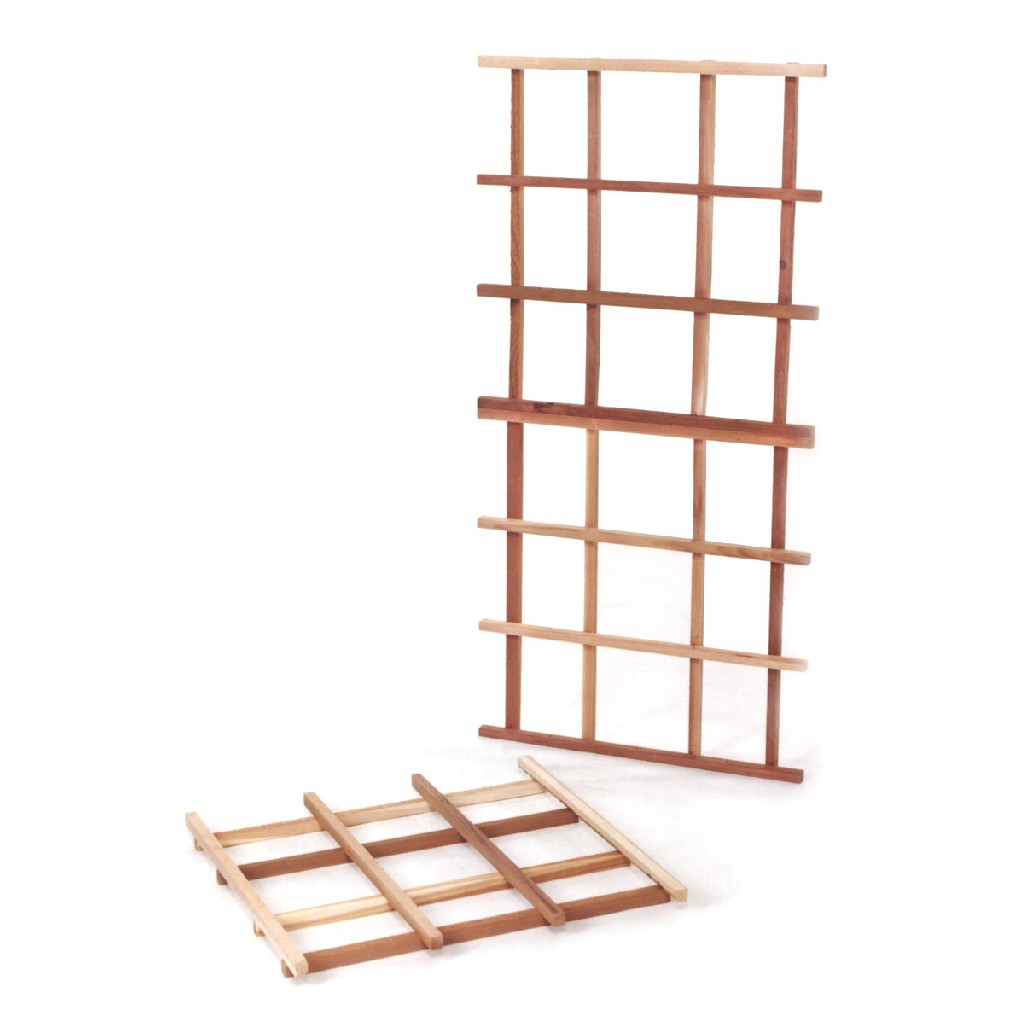 3-Piece Cedar Modular Trellis Kit - All Things Cedar CT60