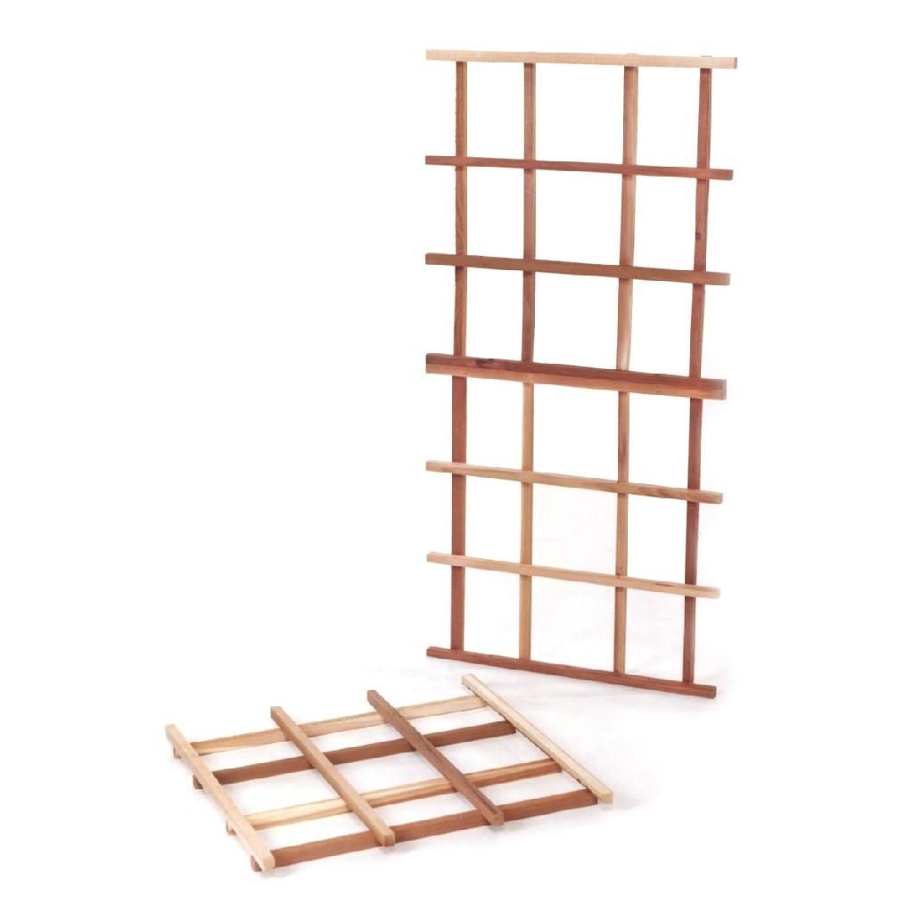 6-Piece Cedar Modular Trellis Kit - All Things Cedar CT60-2