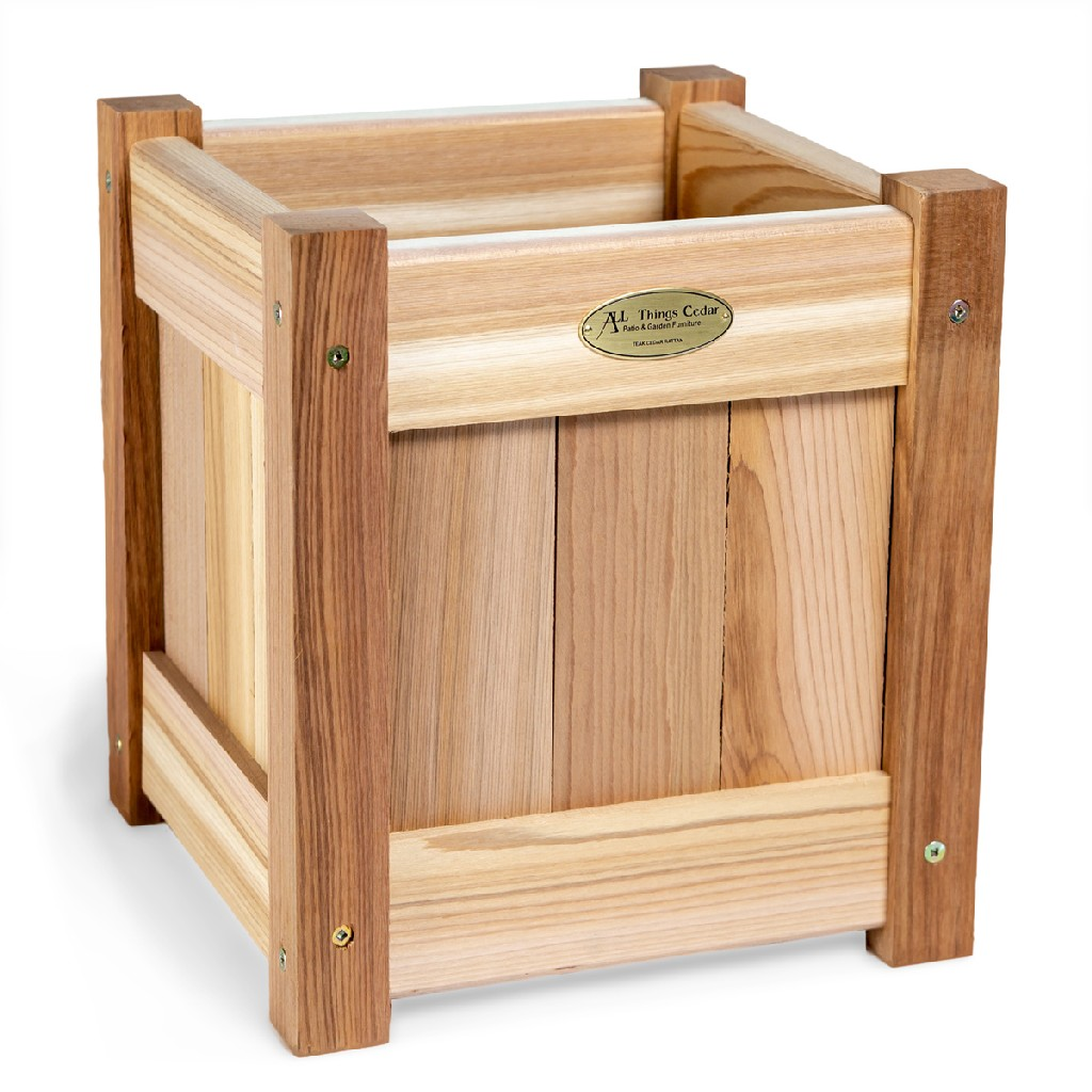 10-in Planter Box - All Things Cedar PL10