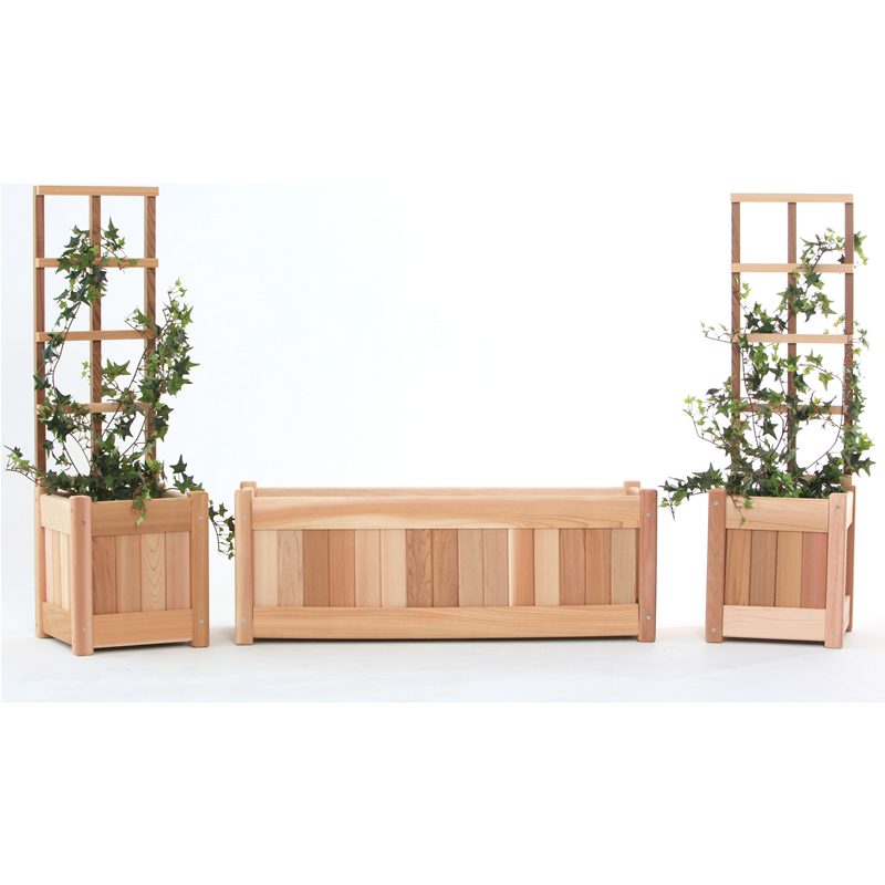 3-Piece Planter Set - All Things Cedar PL1030-Set
