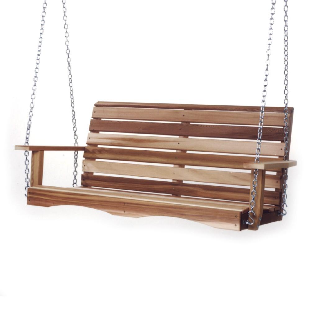 4-ft Porch Swing & Comfort Swing Springs - All Things Cedar PS48-SW10