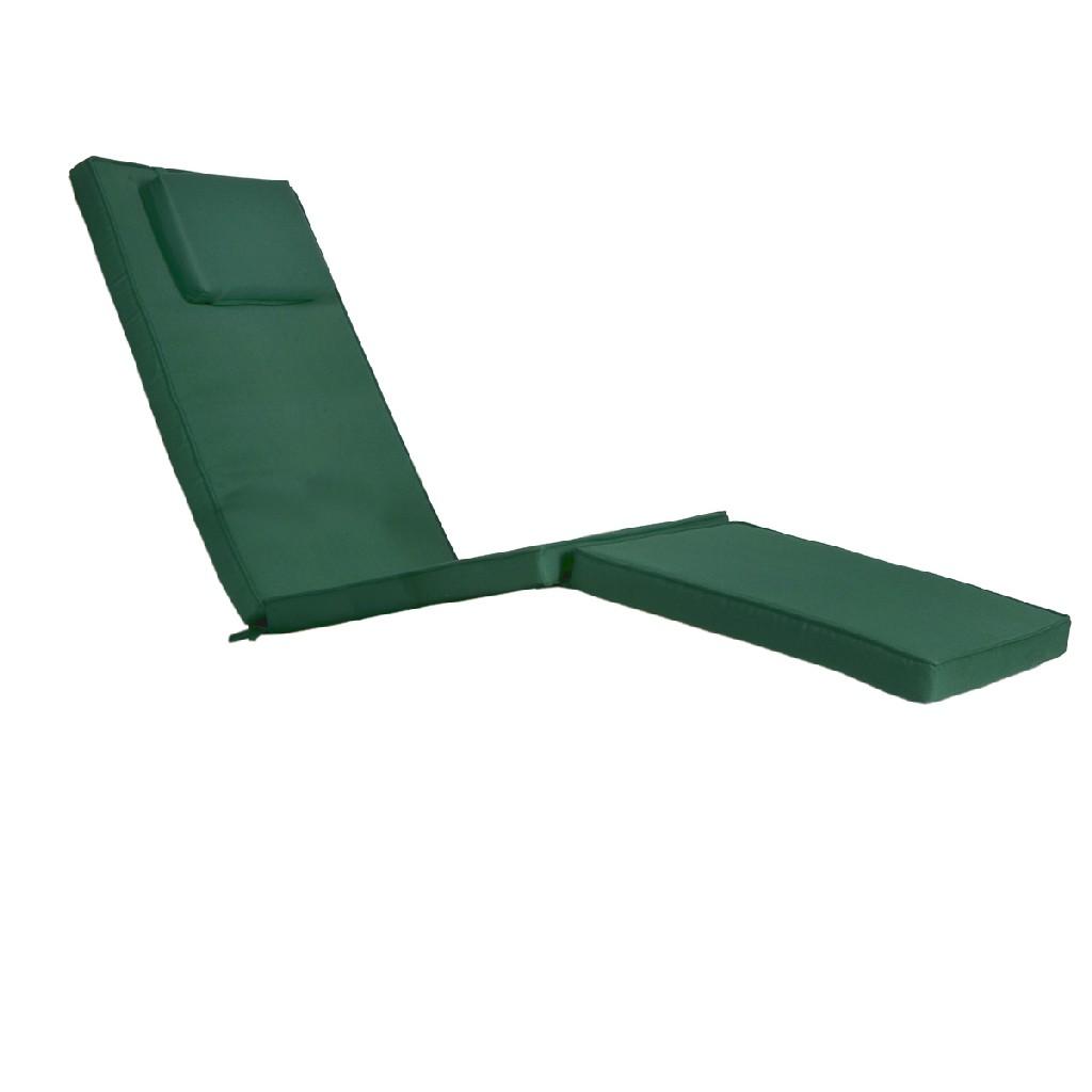 5 - Position Steamer Chair & Cushion, Green - All Things Cedar TF53-G
