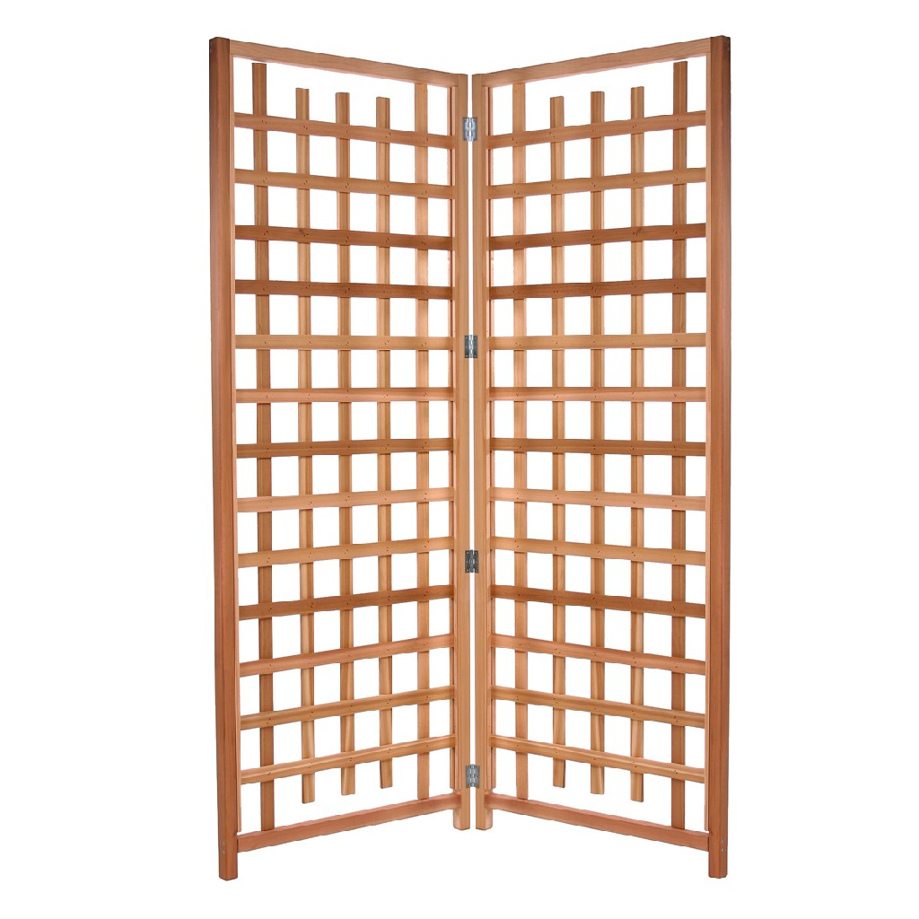 2-Piece Trellis Privacy Screen Set - All Things Cedar TS33-2