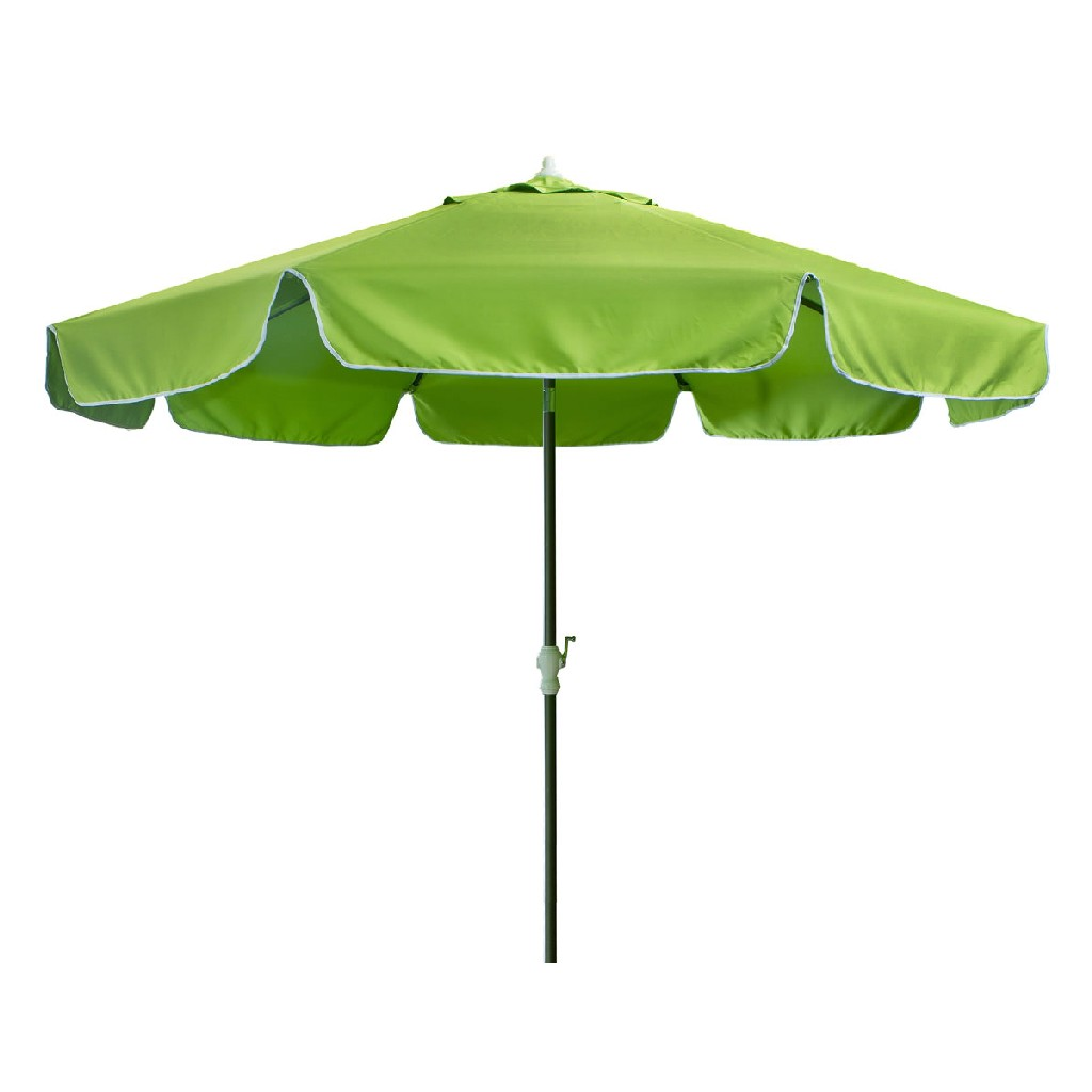 10-ft Patio Umbrella & Canopy, Green - All Things Cedar UB33-G