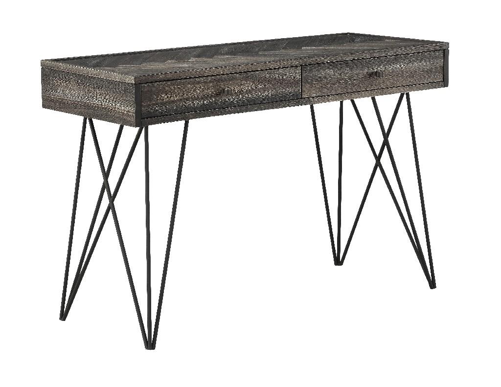 Aspen Court Two Drawer Console Table in Aspen Court Herringbone - Coast to Coast 40281
