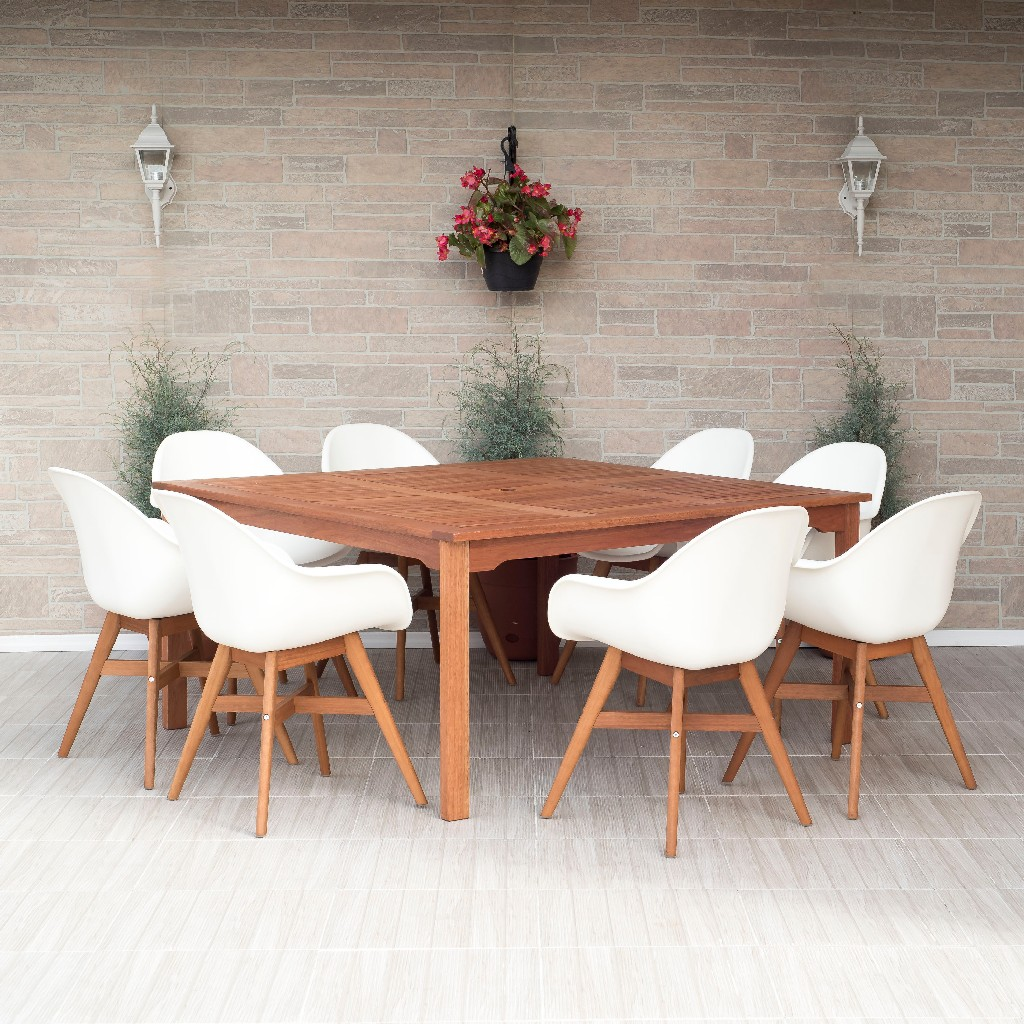 International Home Square Dining Set Patio