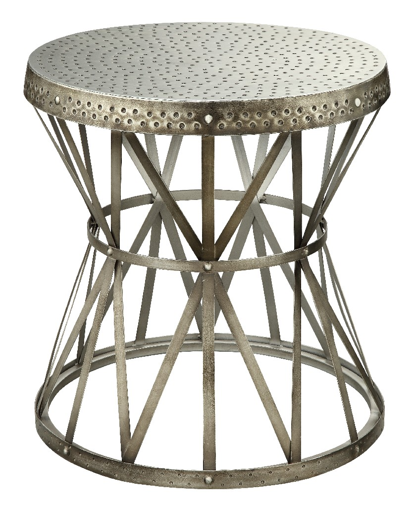 Accent Table in Hammer Antique Nickel - Coast to Coast 43329