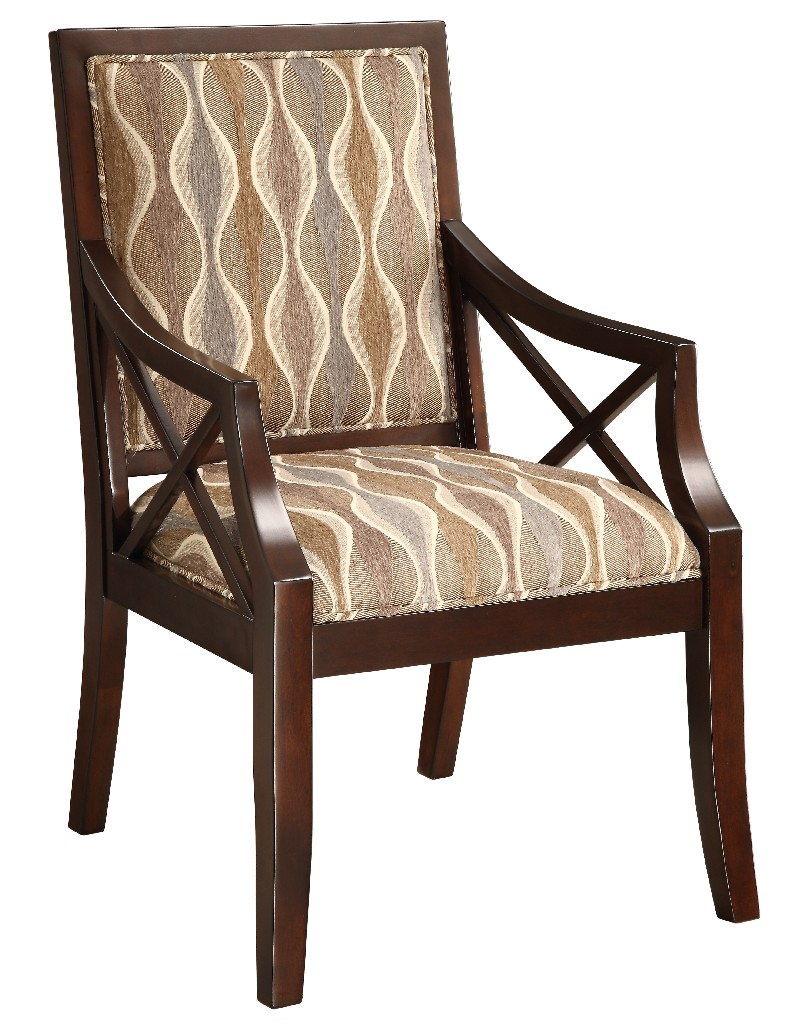 Accent Chair in Cowie Espresso - Coast to Coast 46234