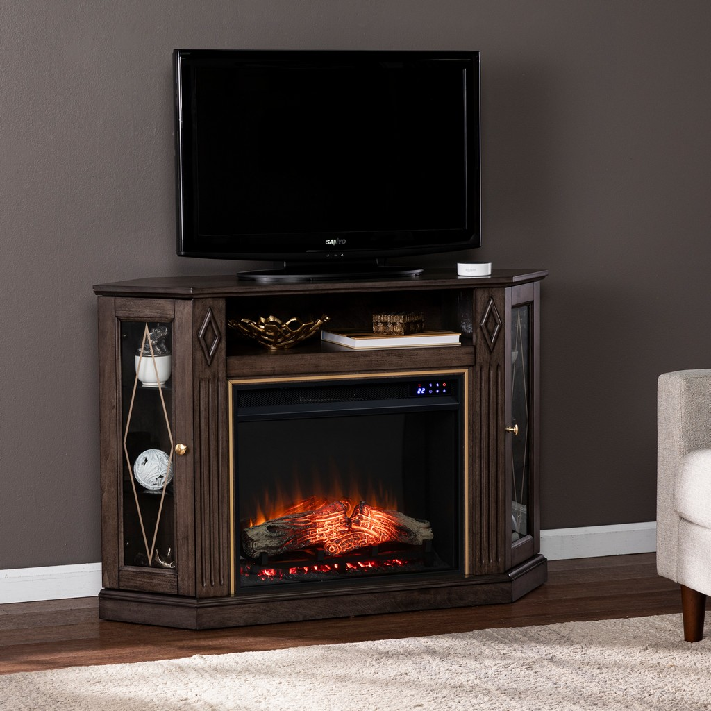 Austindale Electric Fireplace with Media Storage - Southern Enterprises FR1137556