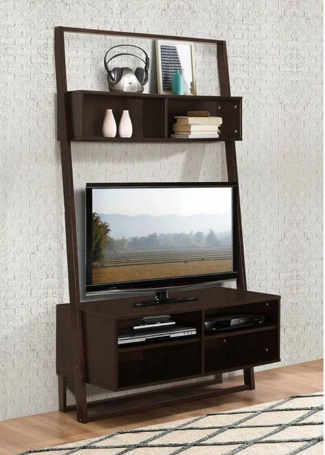 Arlington Entertainment Center w/ Bookcase & Desk - 4D Concepts 89807