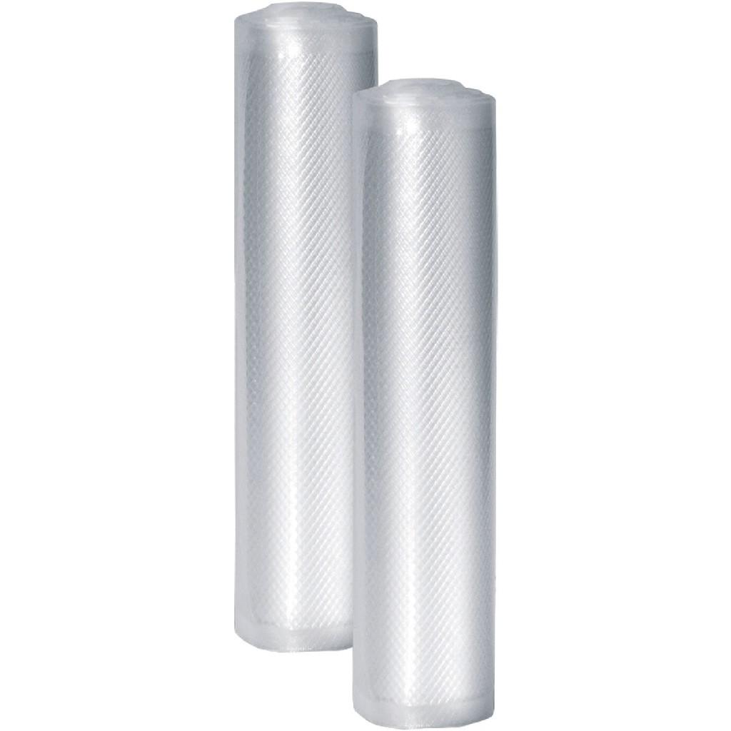 Professional 8-In. x 20-Ft. Food Vacuum Rolls, Set of 2 - Caso 11221