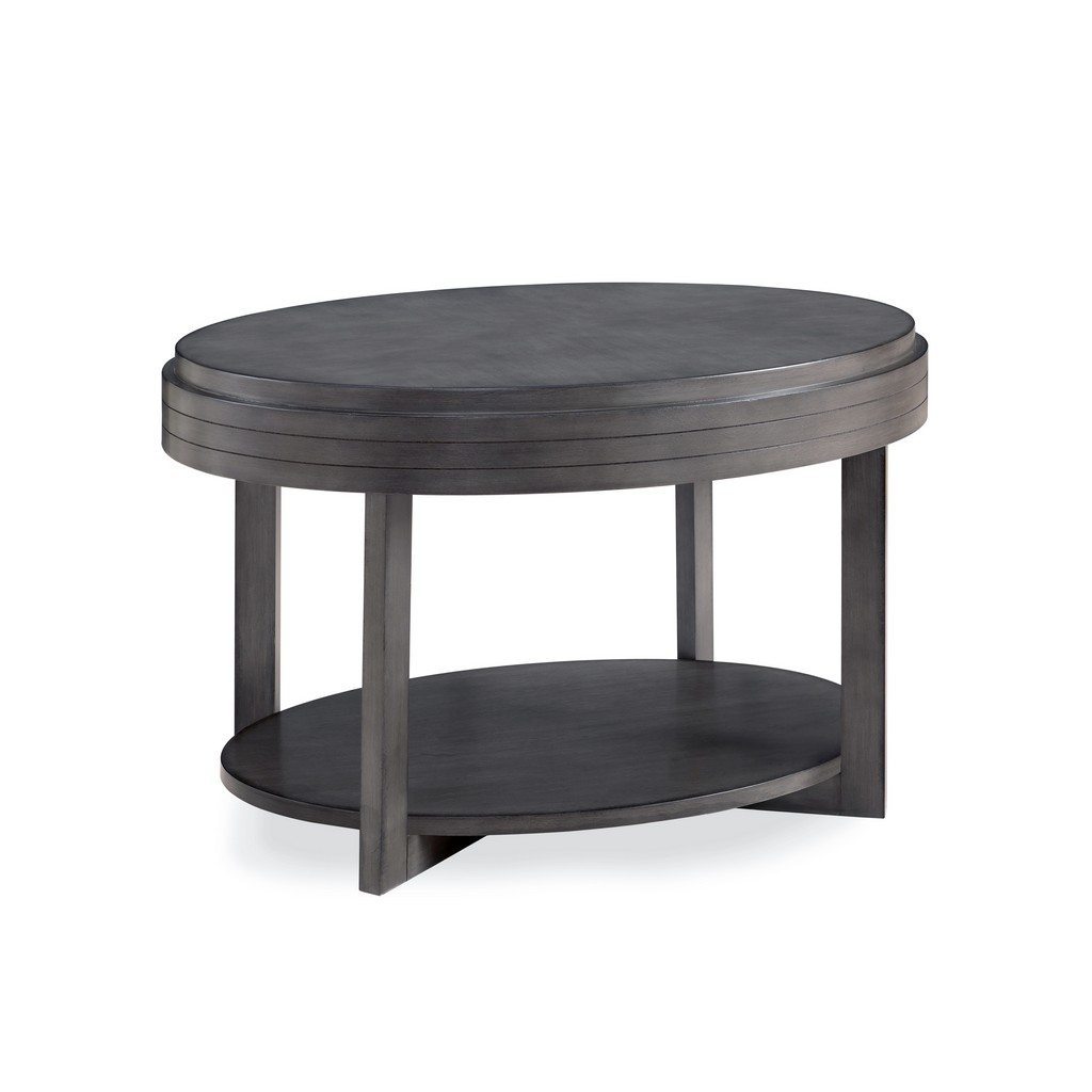 Oval Condo/Apartment Coffee Table - Leick Home 10109-GR