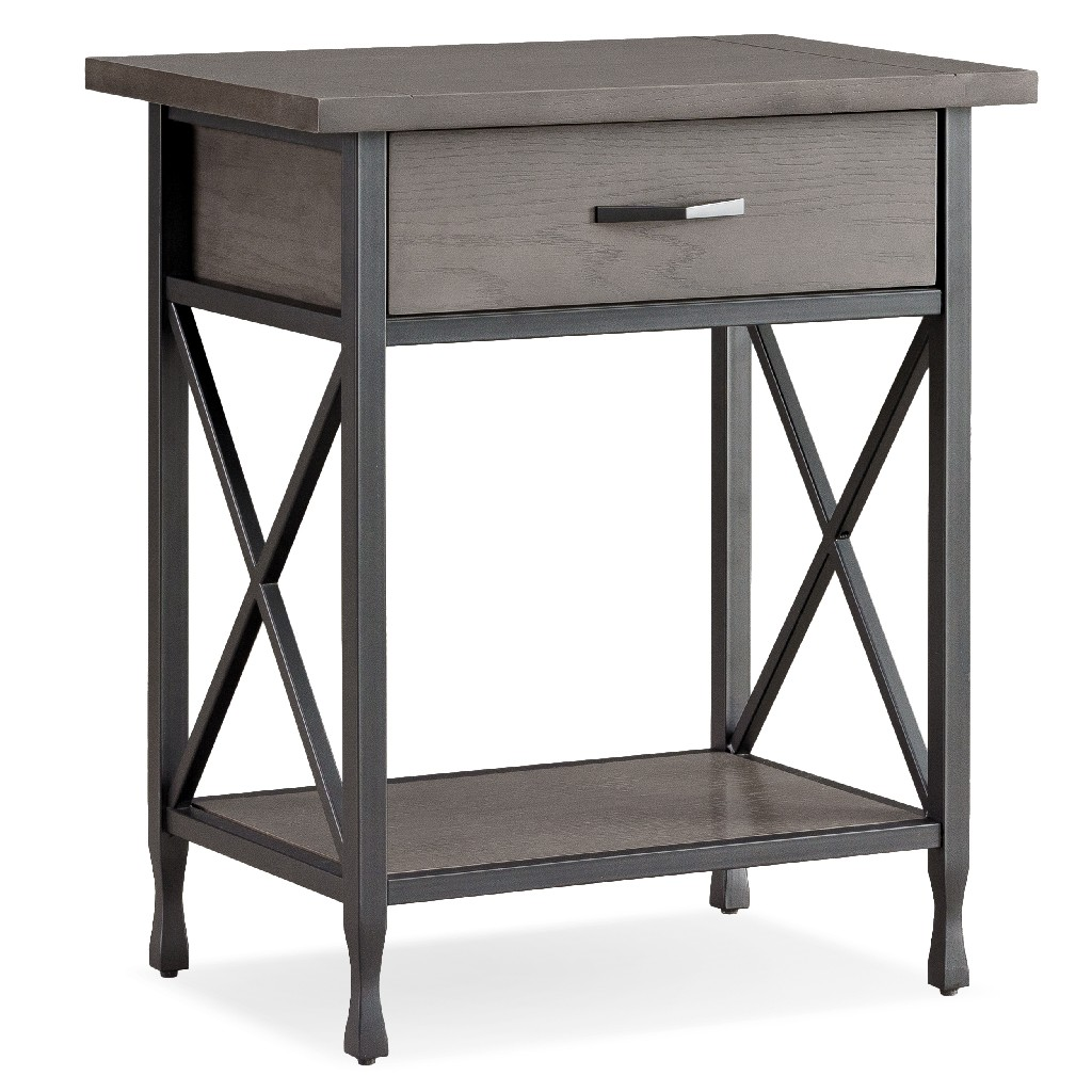 Chisel&Forge Night Stand w/ Drawer - Leick 23022