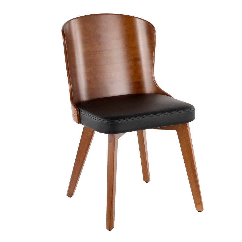 Bocello Chair - LumiSource CH-BCLLO WL+BK