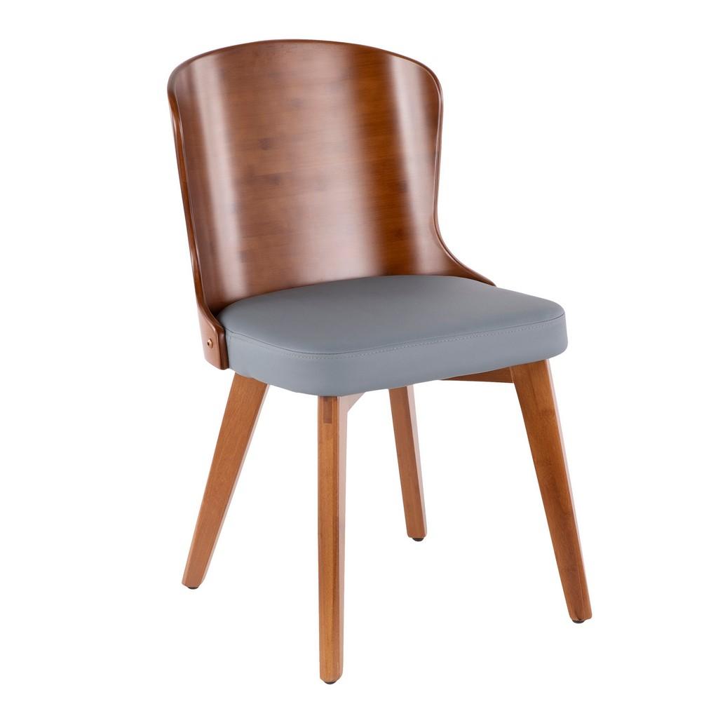 Bocello Chair - LumiSource CH-BCLLO WL+GY