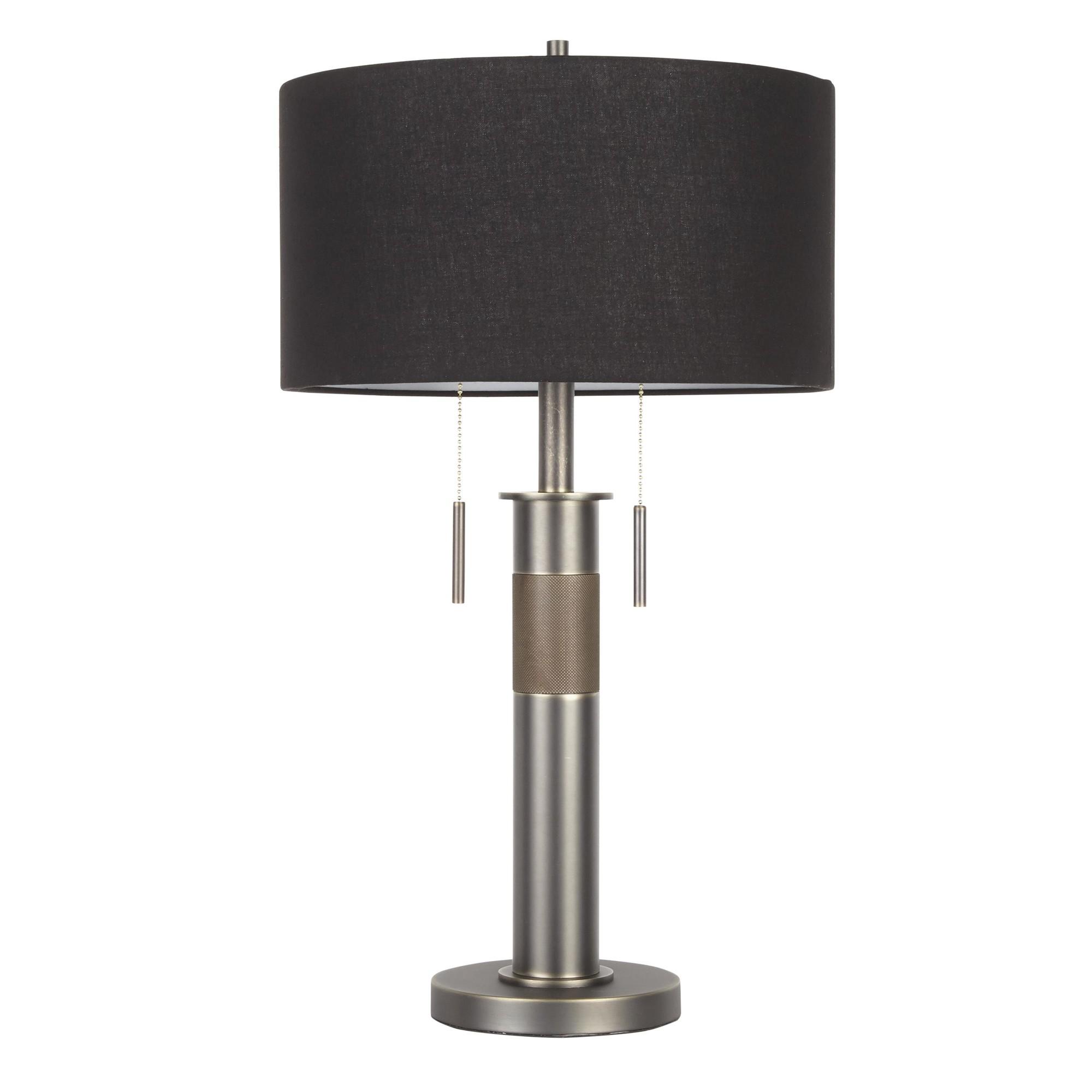 Shade   Metal   Table   Black   Lamp   Gun
