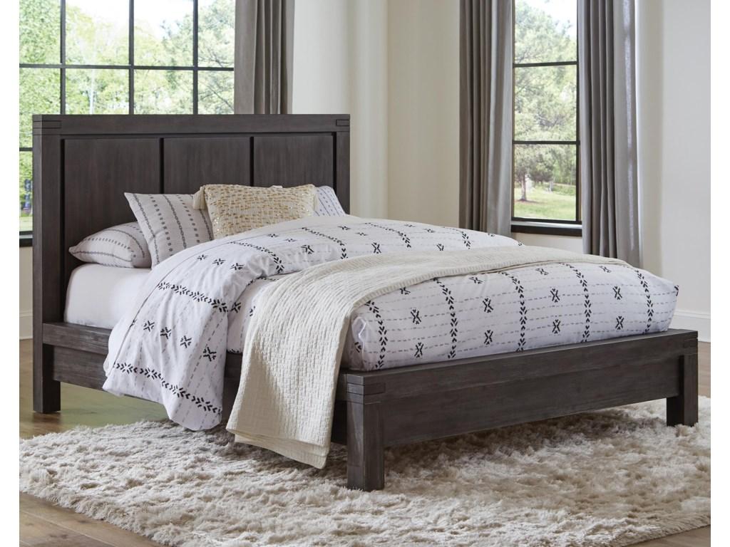 Modus King Wood Platform Bed