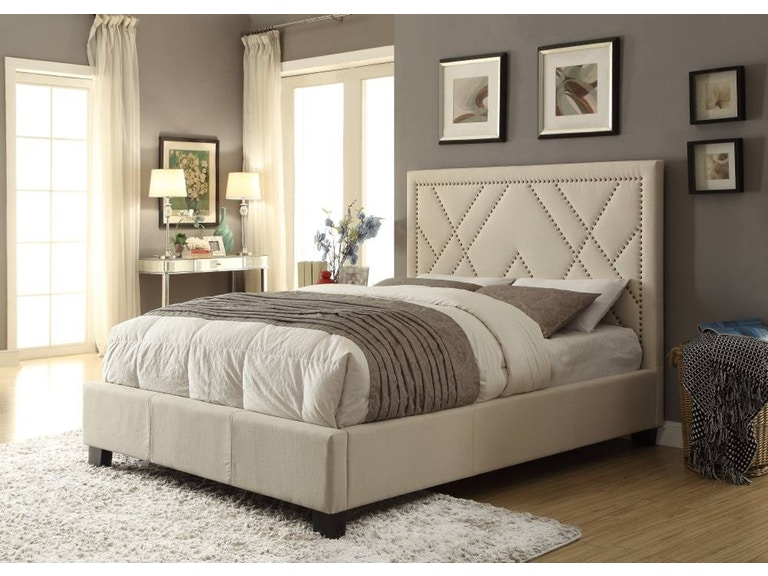 Modus Furniture King Platform Bed Photo