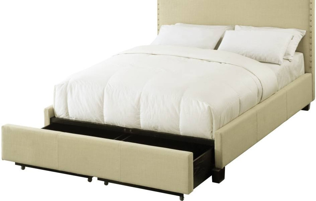 Modus California King Nailhead Platform Storage Bed