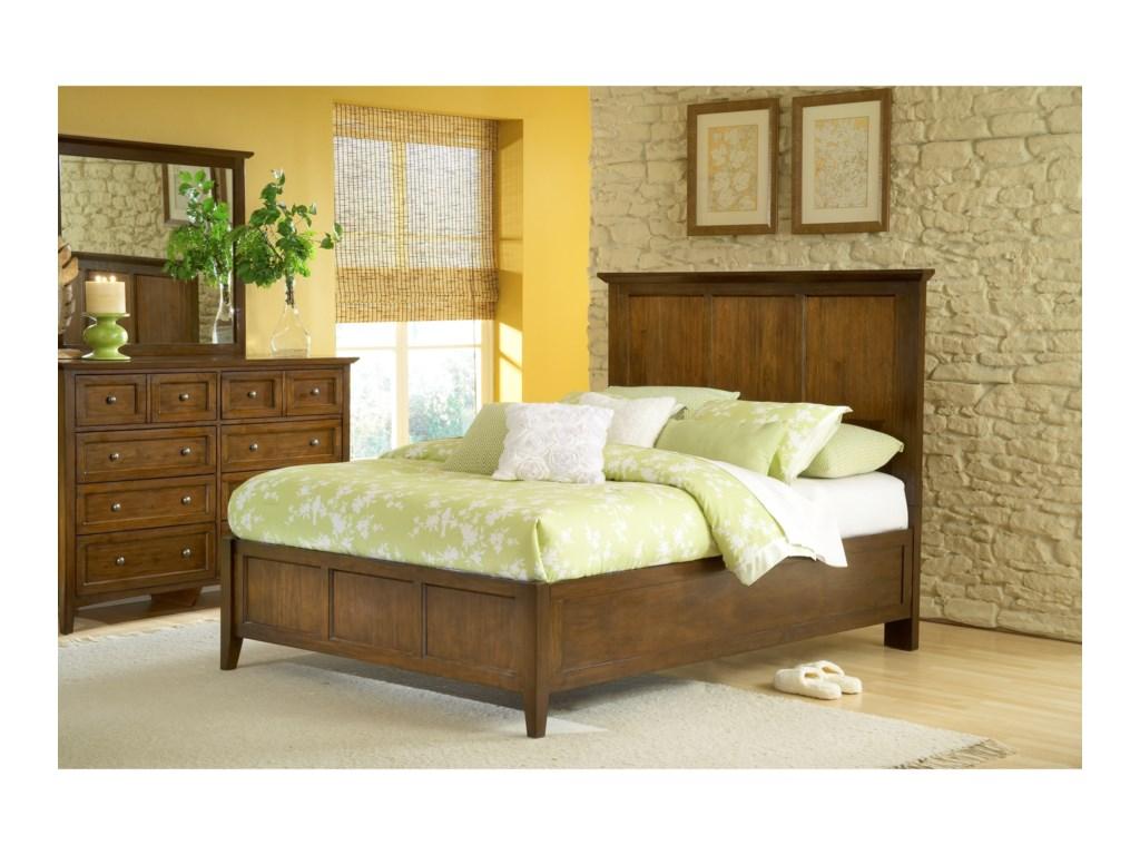 Modus Furniture Panel Bed Queen Photo