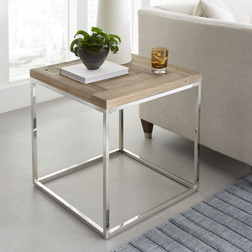 Ace Reclaimed Wood End Table - Modus 6JC222