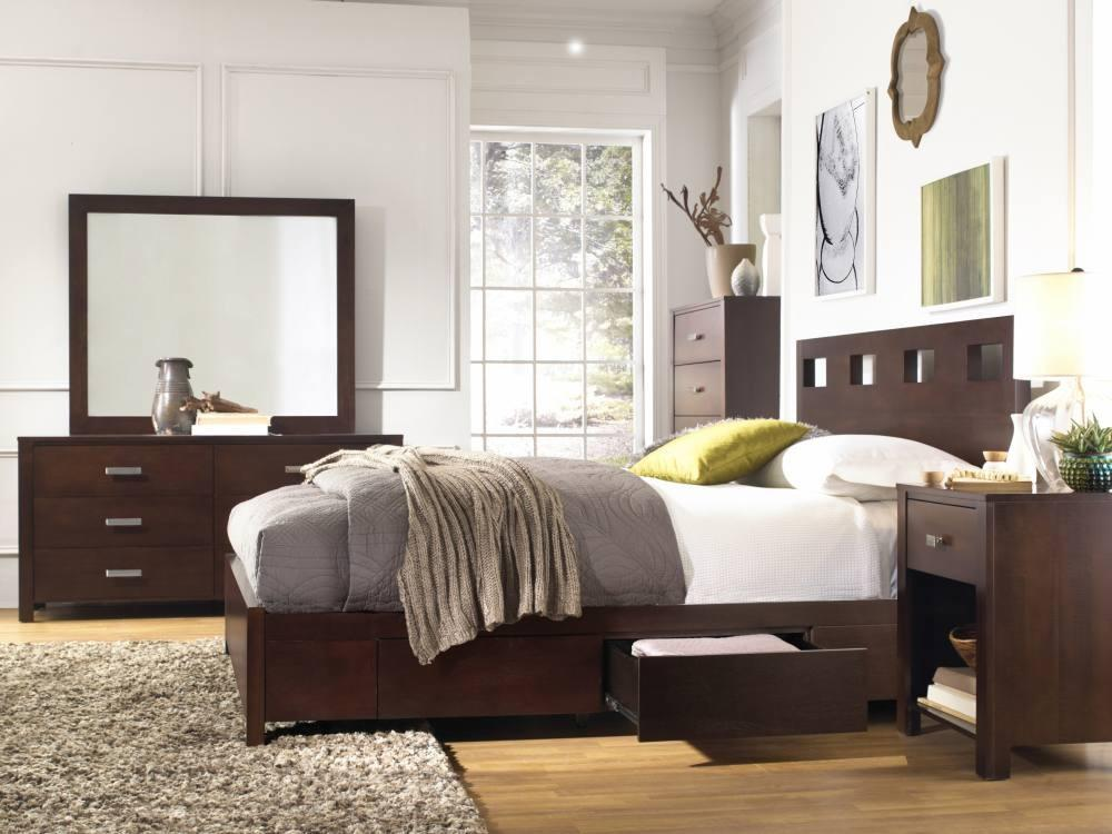 Modus Furniture Twin Platform Storage Bed Photo